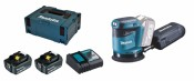 Makita DBO180RTJ 2x 5Ah Batterie + Chargeur
