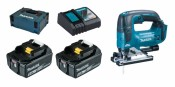 Makita DJV182RTJ 2x 5Ah Batterie + Chargeur
